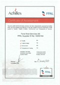 Archilles FPAL, Cert. of Assessment.jpg